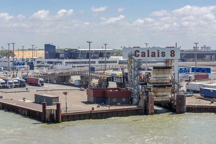 brexit preparations at calais harbour